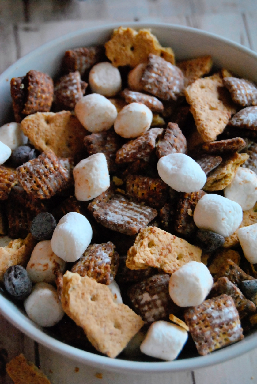 S Mores Puppy Chow