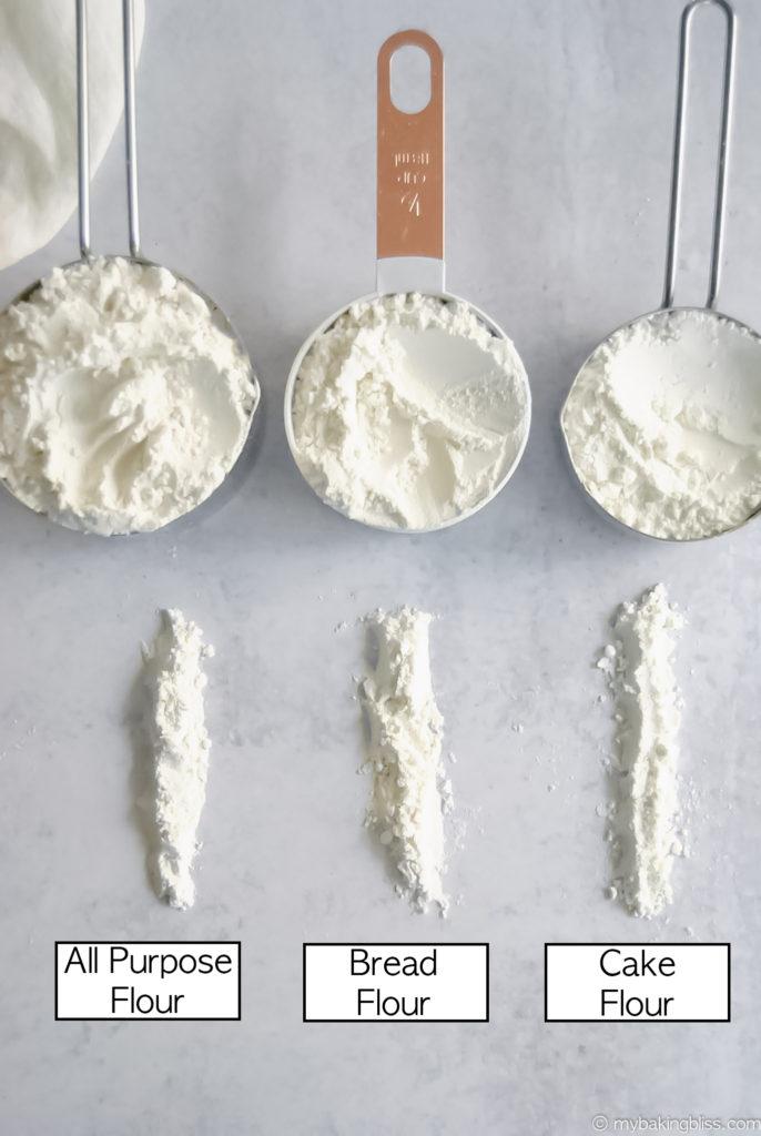 All About Flour: All Purpose vs Bread Vs Cake